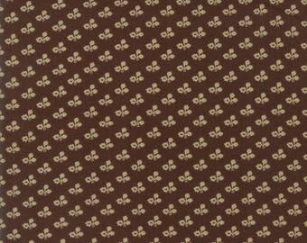 Moda Rachel Remembered Quilt Fabric 1/2 Yard By Betsy Chutchian Saddle  31546 22