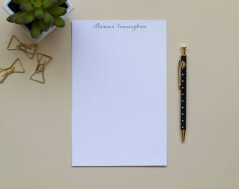 Personalized Notepad / Simple Notepad / Custom Notepad / Name Notepad / Initial Notepad
