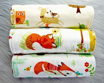 Baby Burp Cloths Set of 3, Unisex Baby Gift, Baby Girl, Baby Boy, Baby Shower Gift, New Mums