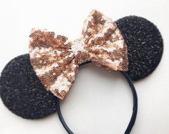 NEW Rose Gold Mouse Ears
