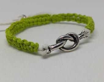 Knot, Tied, Friendship, Hemp, Bracelet