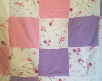 New baby quilt handmade so soft flannel never used