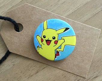 Pikachu Pin Badge