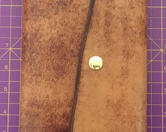 A5 Antique leather moleskine cover