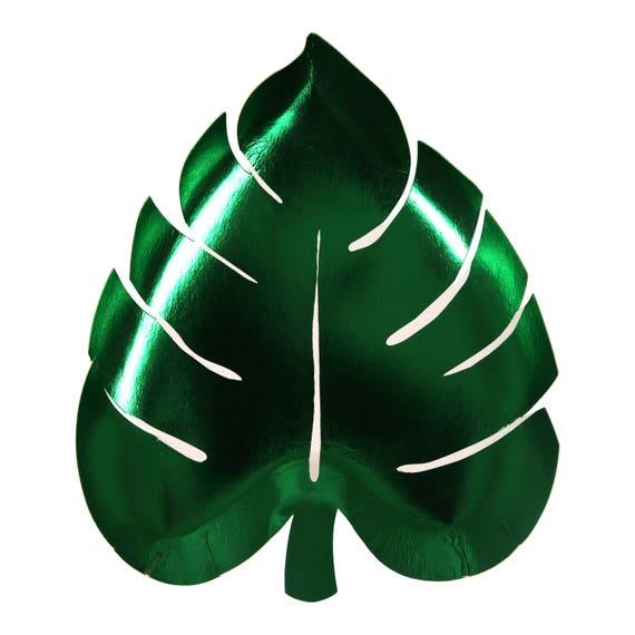 Palm leaf plates meri meri