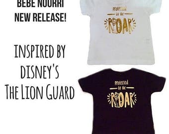 Grey Lion King/Lion Guard Inspired Protected by the Roar Tee