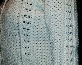 Celtic Crochet Aran Cardigan
