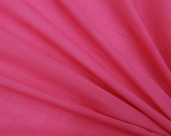 "Home Decor Fabric, Pink Fabric, Dress Material, Sewing Accessories, Indian Fabric, 40"" Inch Cotton Fabric By The Yard ZBC7559N"