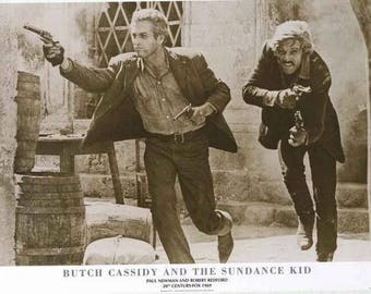 Butch Cassidy And The Sundance Kid Paul Newman Robert Redford   Rare Vintage Poster