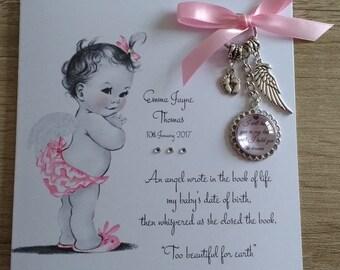 Angel Baby Card & Keyring