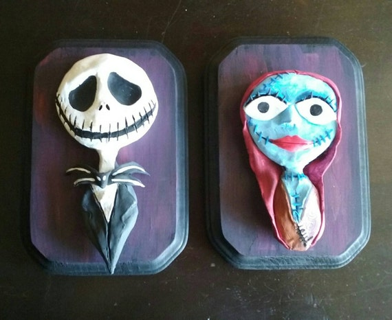 Nightmare before Christmas jack and Sally figure set