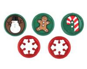 Dress It Up Sew Fun Christmas Buttons