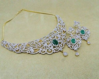 Clearance sale!!!New Bridal jewelry set|Wedding Necklace| wedding jewelry set| indian jewelry| indian necklace set