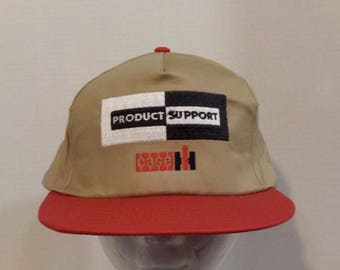 Product Support CASE International Harvester VTG Baseball Truckers Snapback Hat Cap