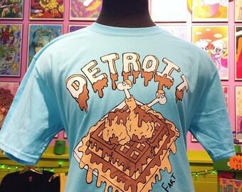 Chicken and Waffles Detroit T-Shirt