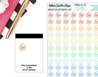 Paste Credit Card Planner Stickers