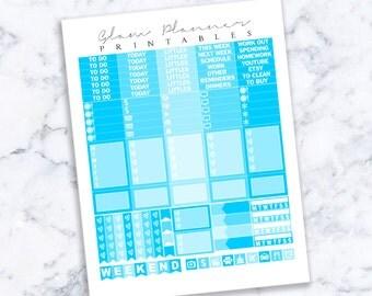 Printable Planner Stickers: 05 (Erin Condren Life Planner PDF)