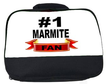 Marmite Fan hashtag canvas lunch bag