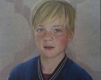 custom portrait oil painting from photography