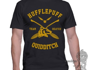 BEATER - Huffle Quidditch team Beater on MEN tee