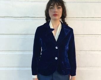Gorgeous Blue velvet blazer