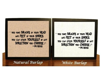You have brains in your head and feet in your shoes, Dr Seuss Quotes, Dr Seuss Nursery, Dr. Seuss Gift, Dr Seuss Birthday, Dr Seuss Sign
