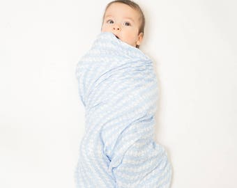 Super soft 100% bamboo baby swaddle and play mat. Generously sized at 120x120cm. Let the adventure begin!!!