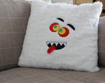 Fur Monster Cushion Cover