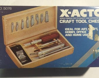 X-acto Craft Tool Chest - Model # 5076