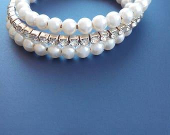 Swarovski bead Stretch Bracelet