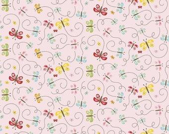 Happy Day in HAPPY BUTTERFLIES by Lori Whitlock for Riley Blake - 1/2 Yard