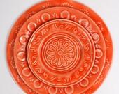 Handmade Enamel Plates