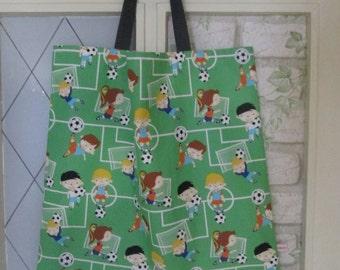 XL kids bag of boys soccer