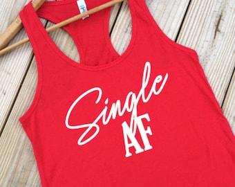 Funny Valentines Day Shirt, Womens Tanks, Red Shirt, Heart Shirt, Shirt for Singles, Funny Tank Tops,  Anti Valentines, S-XXL ID21M