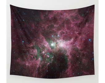 Space Tapestry, Wall Tapestry, Wall Hanging, Galaxy Stars Sky Space, Galaxy Tapestry, Large Size Wall Art, Modern Tapestry, Space Wall Decor