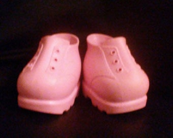 Vintage 1980s CABBAGE PATCH Kids Pink Boots!!