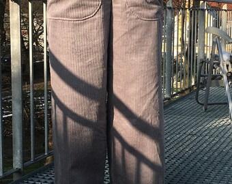 Froeken Frida Bootcut corduroy pants grey