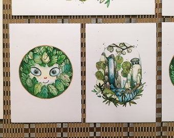 secret of kells art prints set