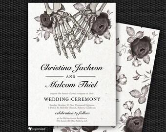 Skull wedding | Etsy