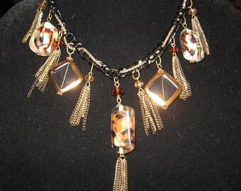 BOHO Animal Print Fabulous Necklace...
