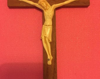 Vintage Crucifix/Cross, Made in France