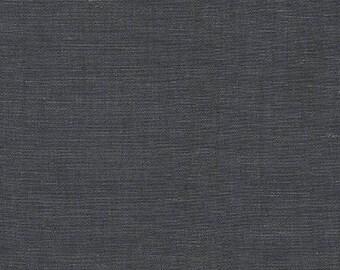 "Wexford Indigo Denim from Robert Kaufman, Lightweight Cotton & Linen 57/43 Blend Fabric 54"" Wide - Half Yard"