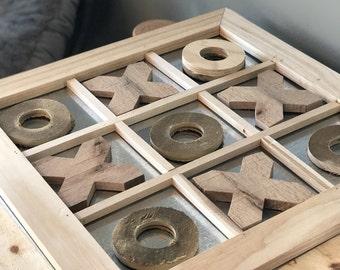 Tic-Tac-Toe magnetic board