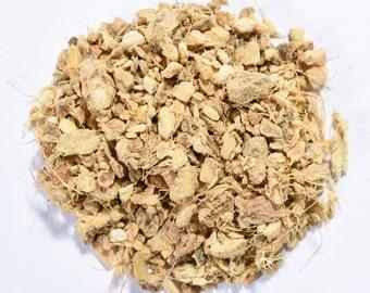 GINGER ROOT | Organic Herbal Tea | Loose Leaf and Tea Bags | Tea Tins | Eco-Friendly Packaging