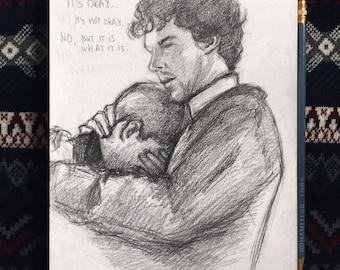 John x Sherlock / Johnlock (prints)