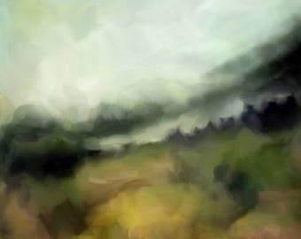 Black Balsam, NC Landscape—Signed, Limited Edition Print