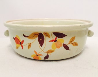 Hall's 'Autumn Leaf' 2 Quart Casserole or Baking Dish