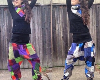 Your choice of Swatchmaster patchwork Harem Pants