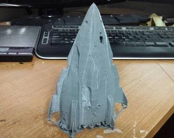 Fer-de-Lance Ship From Elite Dangerous [3D Printed]