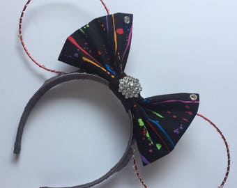 Paint The Night Inspired Light Up Mickey Ears